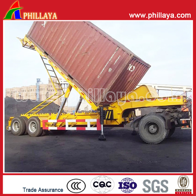 Front Tipping End Tipper Rear Semi Dump Trailers pictures & photos
