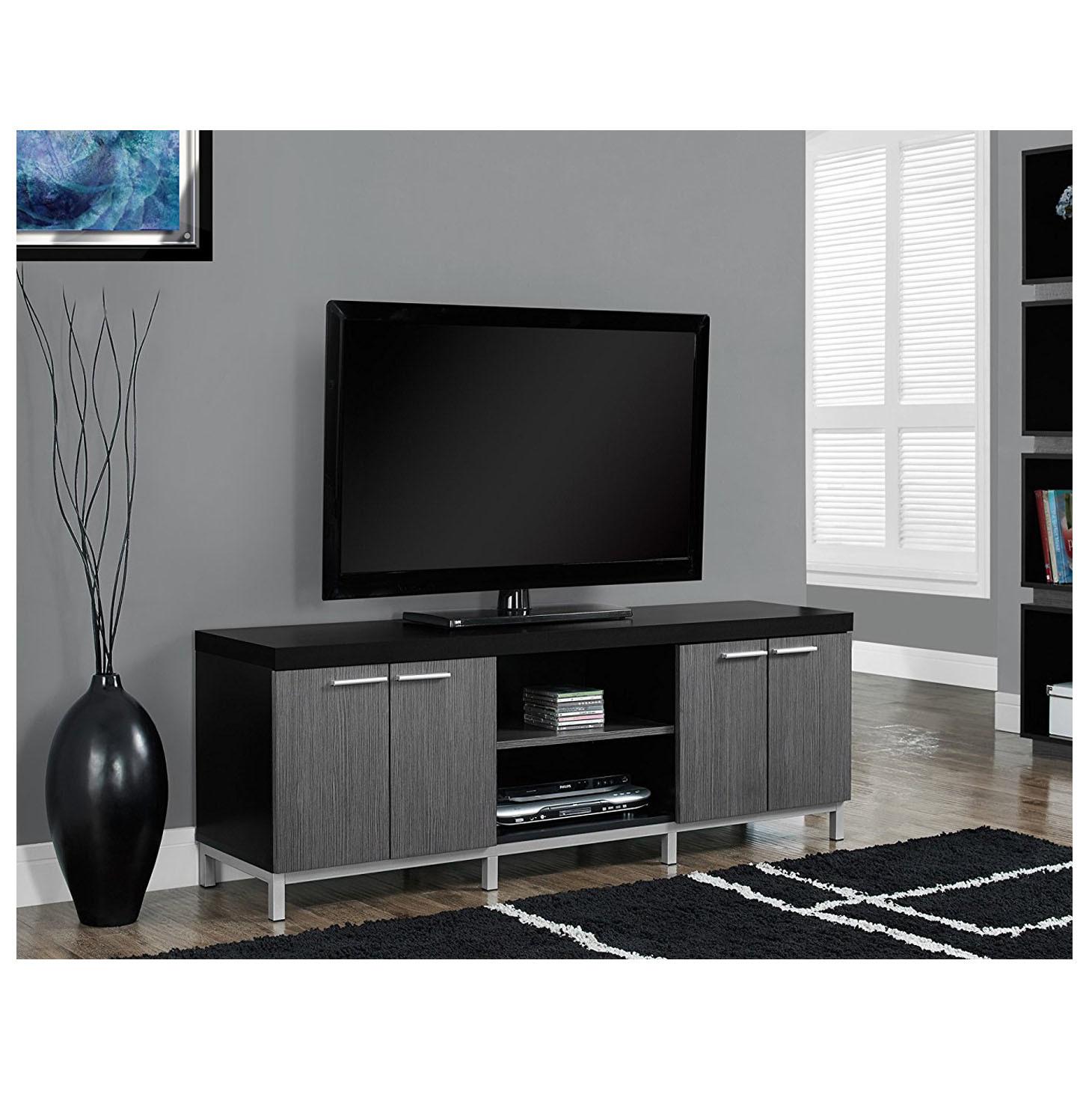 China Wooden Tv Stand Furniture Design Model Cabinet Led Light