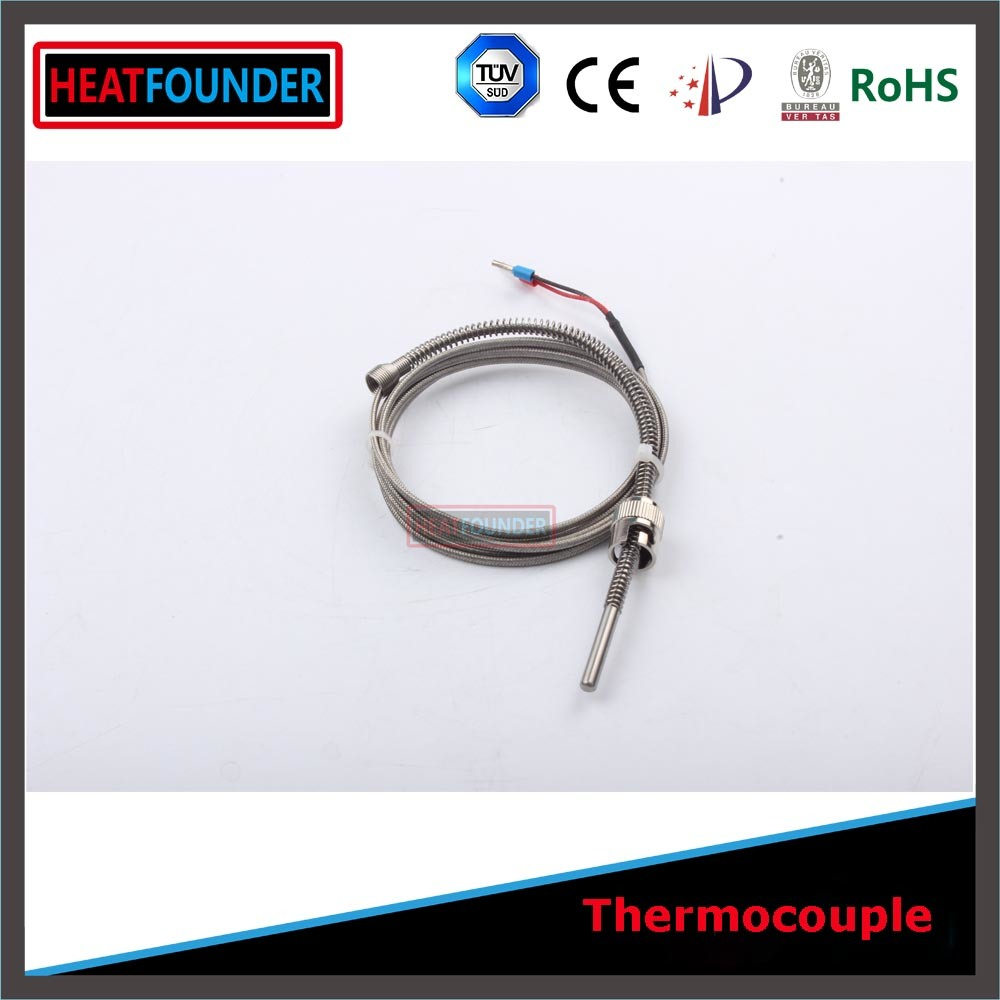China Spring Fixed Thermocouple K Type with Thermocouple Wire Photos ...