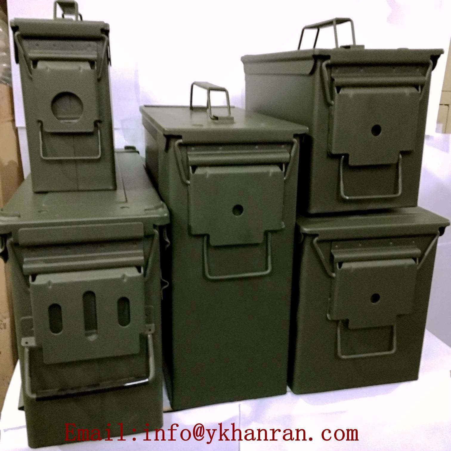 [Hot Item] Ammo Can Set /Ammo Box Set/Battery Safe Box