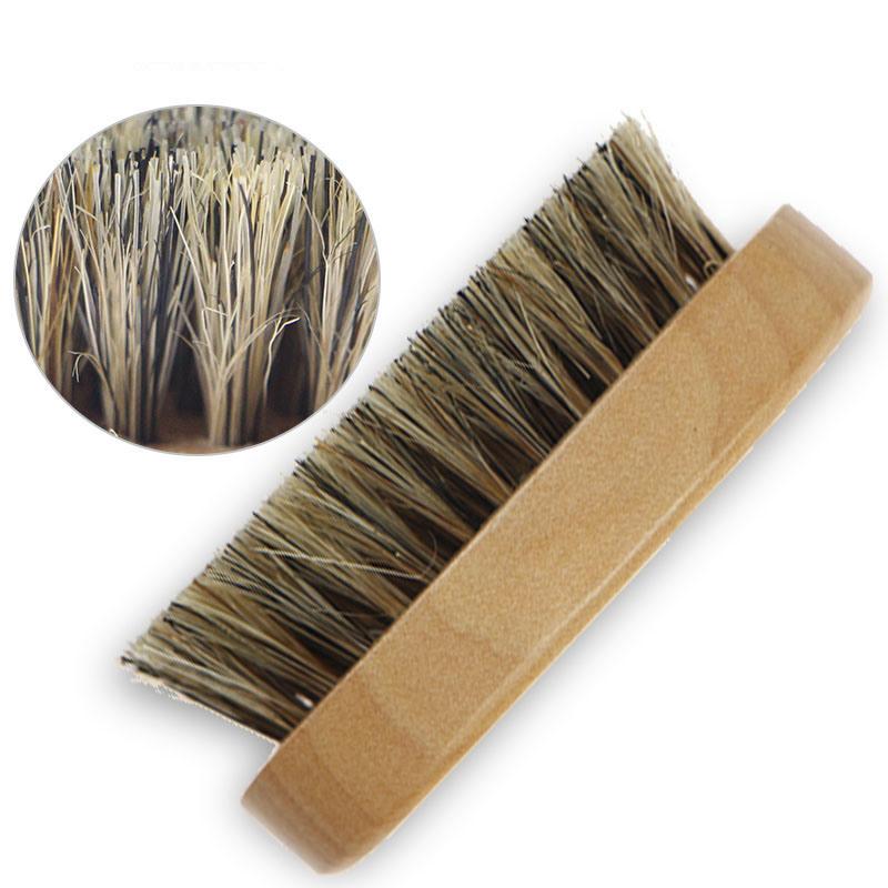 [Hot Item] 100% Pure Boar Bristle Brush Wave Brush Mens Brush Beard Brush  Natural Brush Bristle Brush