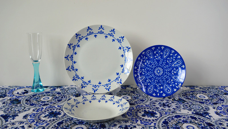 Blue and White China Middle East Pattern Star Hotel Dinnerware & China Blue and White China Middle East Pattern Star Hotel Dinnerware ...