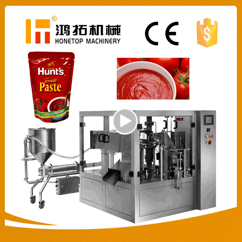 Full Auto Ketchup Packing Machine