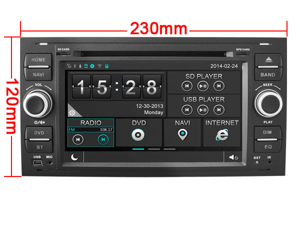 Witson Special Car DVD Player GPS for Ford Focus 2005-2007 (W2-D8488FB) pictures & photos