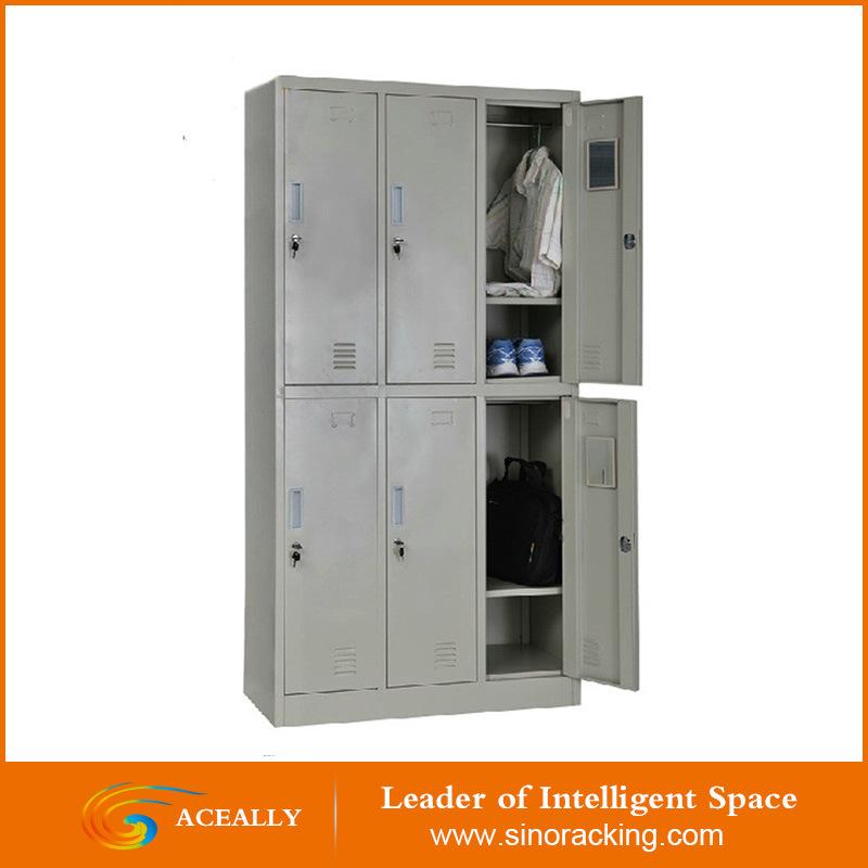 China Supplier Multi-Purpose Double Open Steel Locker