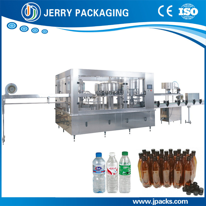 Pet Bottle Mineral Water Washing Filling Capping 3-in-1 Machine