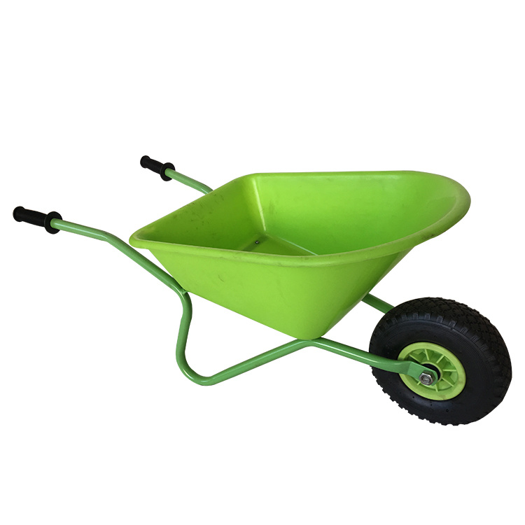 China Safety Plastic Wheel Barrow Toys For Children Photos