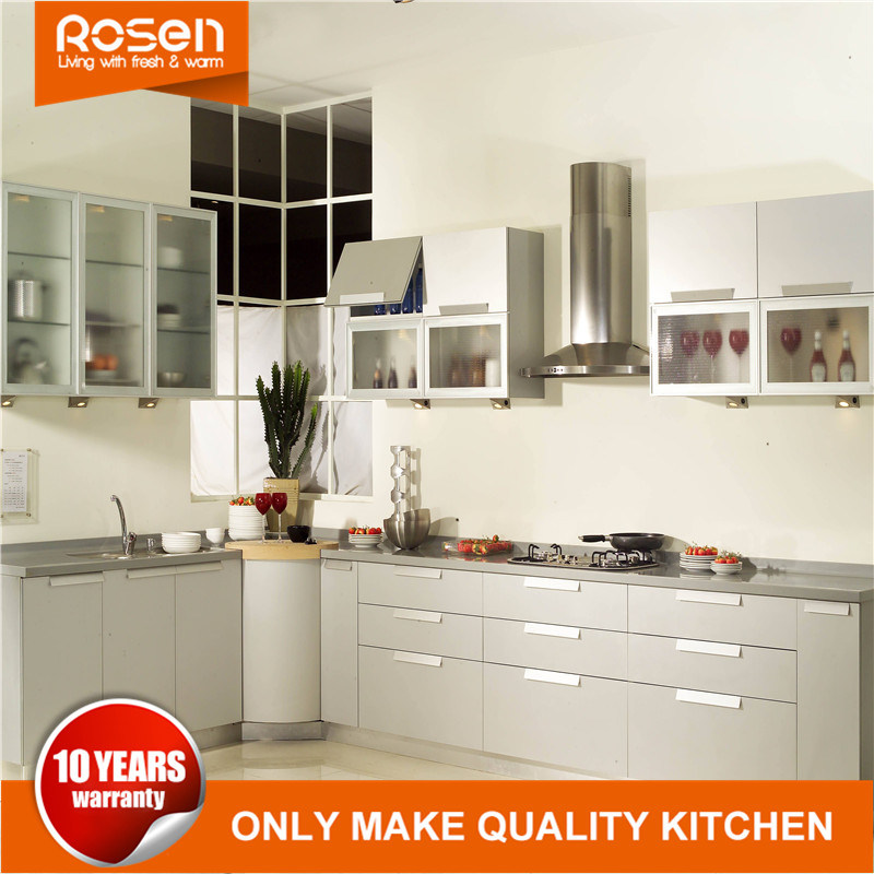 [Hot Item] Shaker Style Best Quality Matt Satin Finish Lacquer Kitchen  Cabinets
