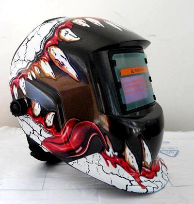 China 2016 New Style Solar Welder Mask Auto Darkening Welding Helmet Arc Tig Mig Grinding China Welder Mask Welder Helmet