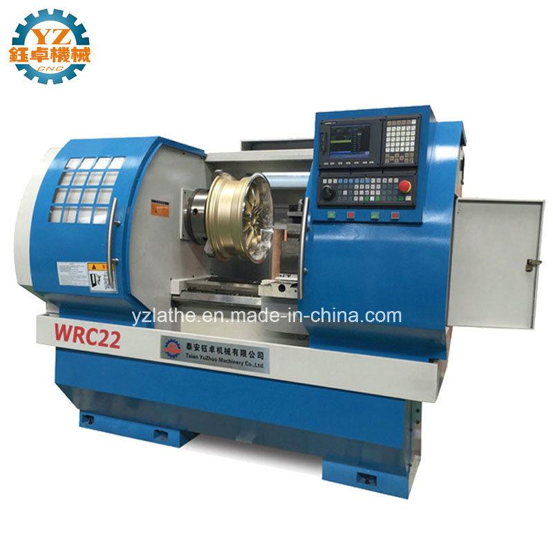 China Wheel Repair CNC Lathe Wheel Hub Wire Drawing Machine - China ...