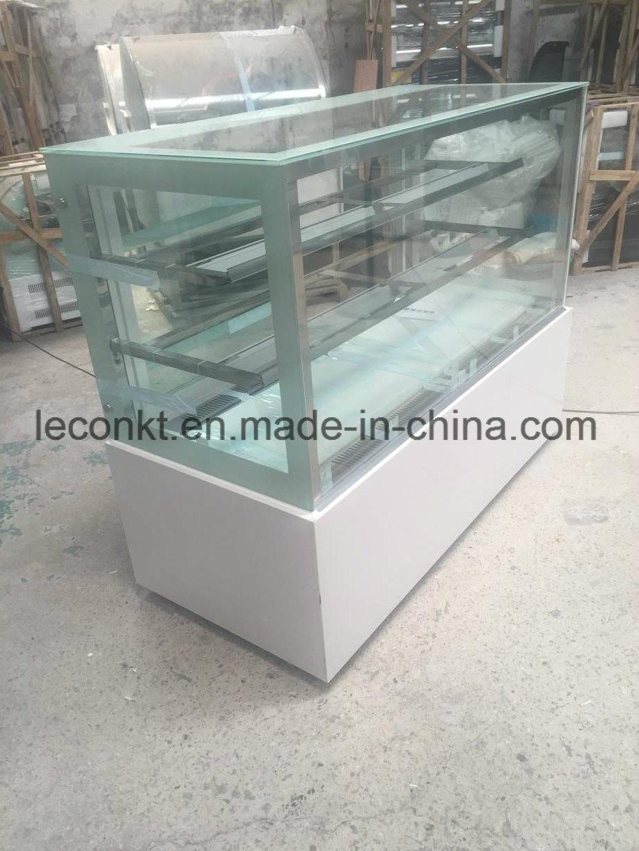 China Full Glass Window Furved Glass Display Refrigerator