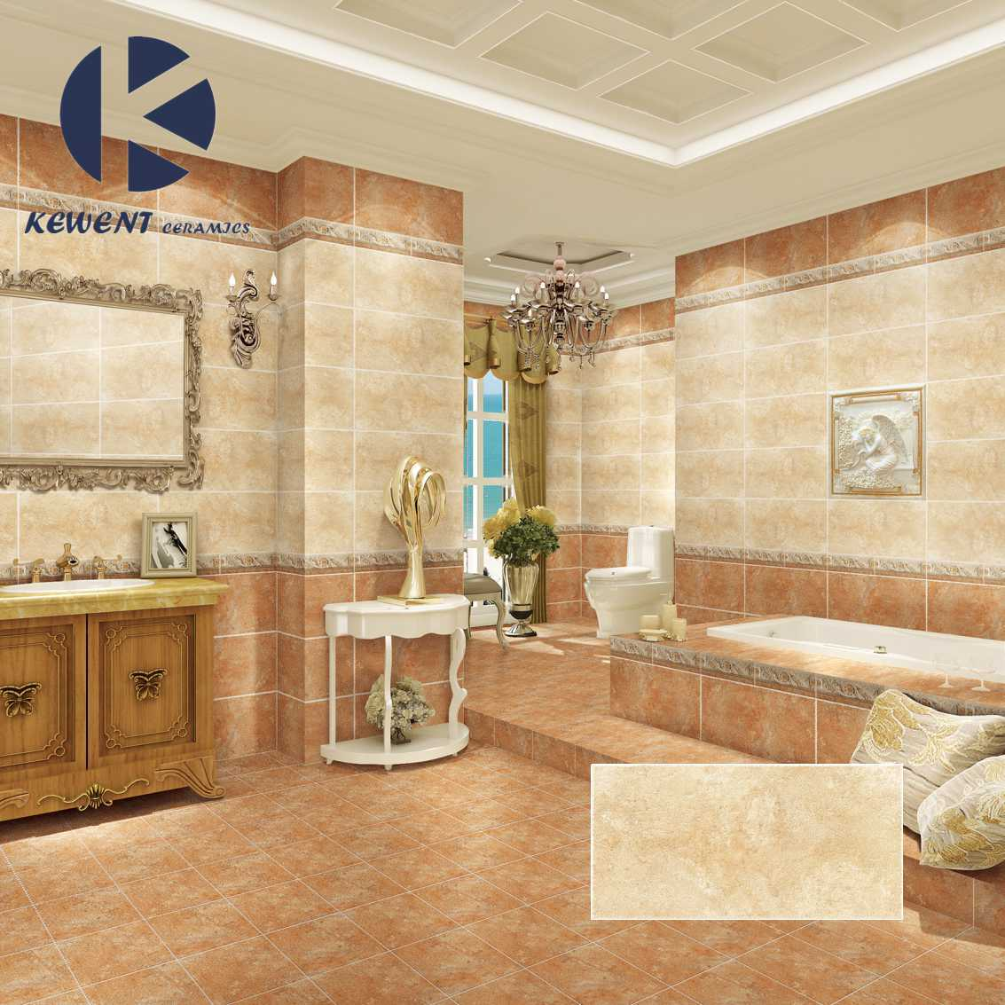 China Glazed Surface Ceramic Tile for Wall and Floor with Good ...