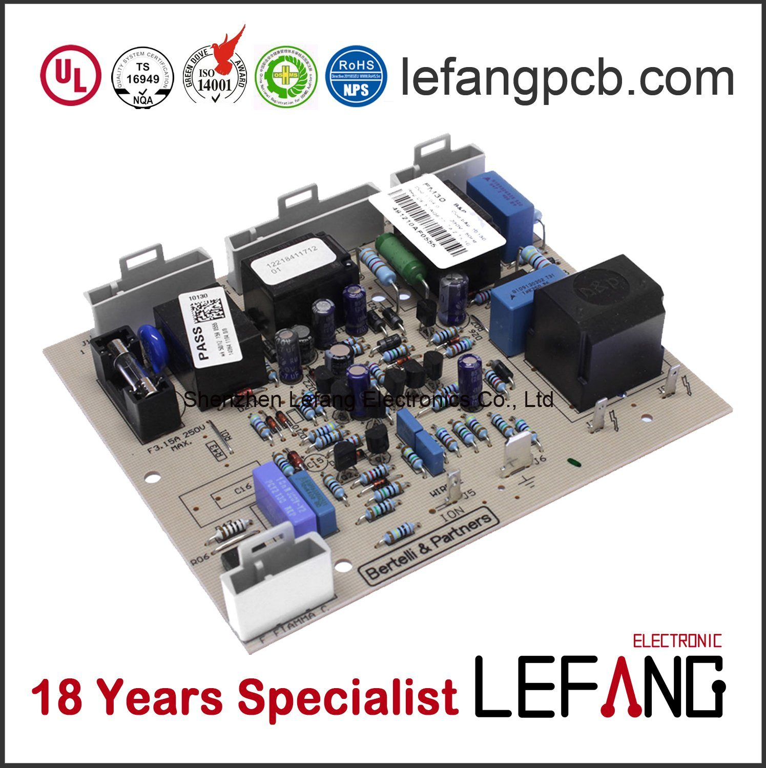 China Prototype Pcb Board Assembly With Full Turnkey Pcba Service Circuit Low Cost Fabrication