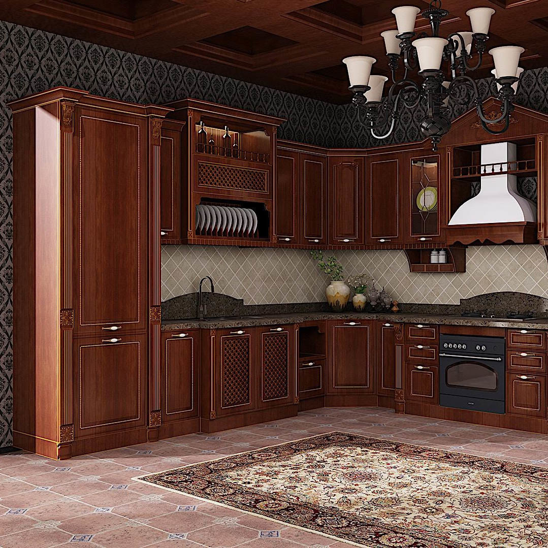 China New Design Pantry Cabinetry Custom Design Modern Kitchen