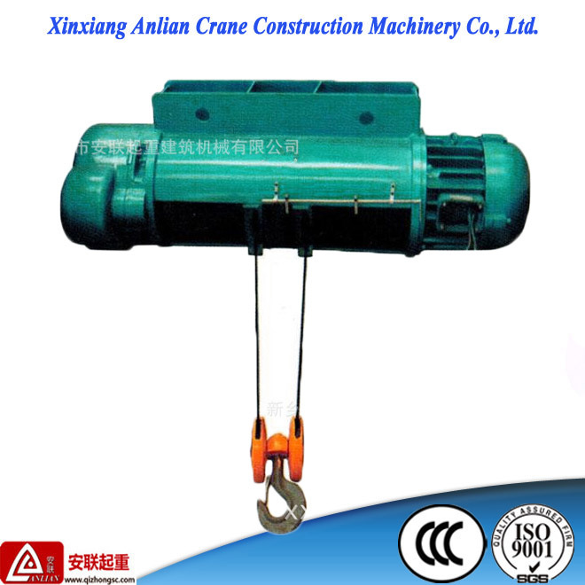 China Reasonable Price Material Lift Equipment Electric Wire Rope ...
