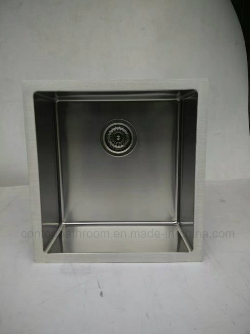 Single Bowl Kitchen Sink Insert Bowl Stainless Steel Sink