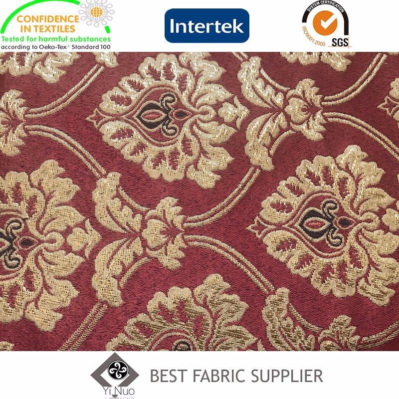 Curtain Carpet Fabric Classic Jacquard