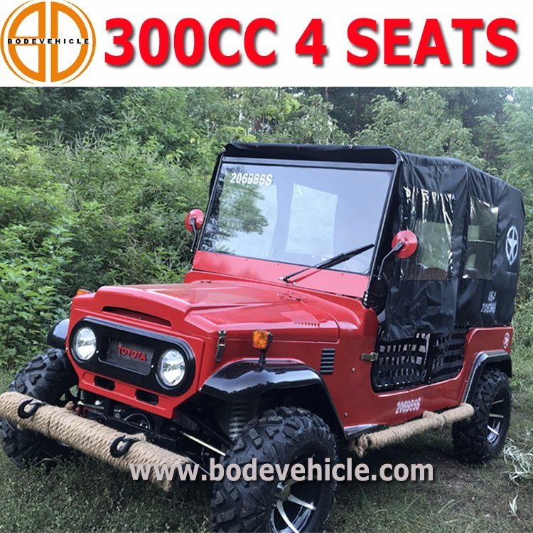 China Newest Professional Beach Car 300cc Dune Buggy For 4 Seats Mc