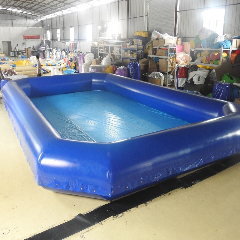 [Hot Item] Inflatable Rectangle Blow up Swimming Pool for Kids Water Game