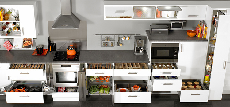 China Affordable Modern Laminate Kitchen Cabinets L Shaped ...