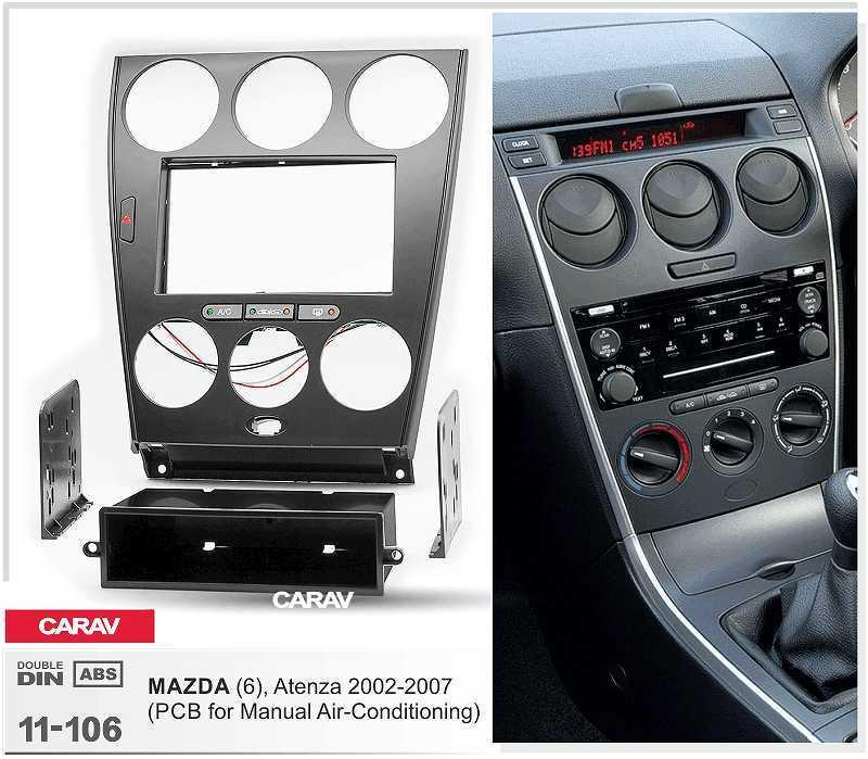 informafutbol.com Dash Parts Automotive Double Din Audio Fascia ...