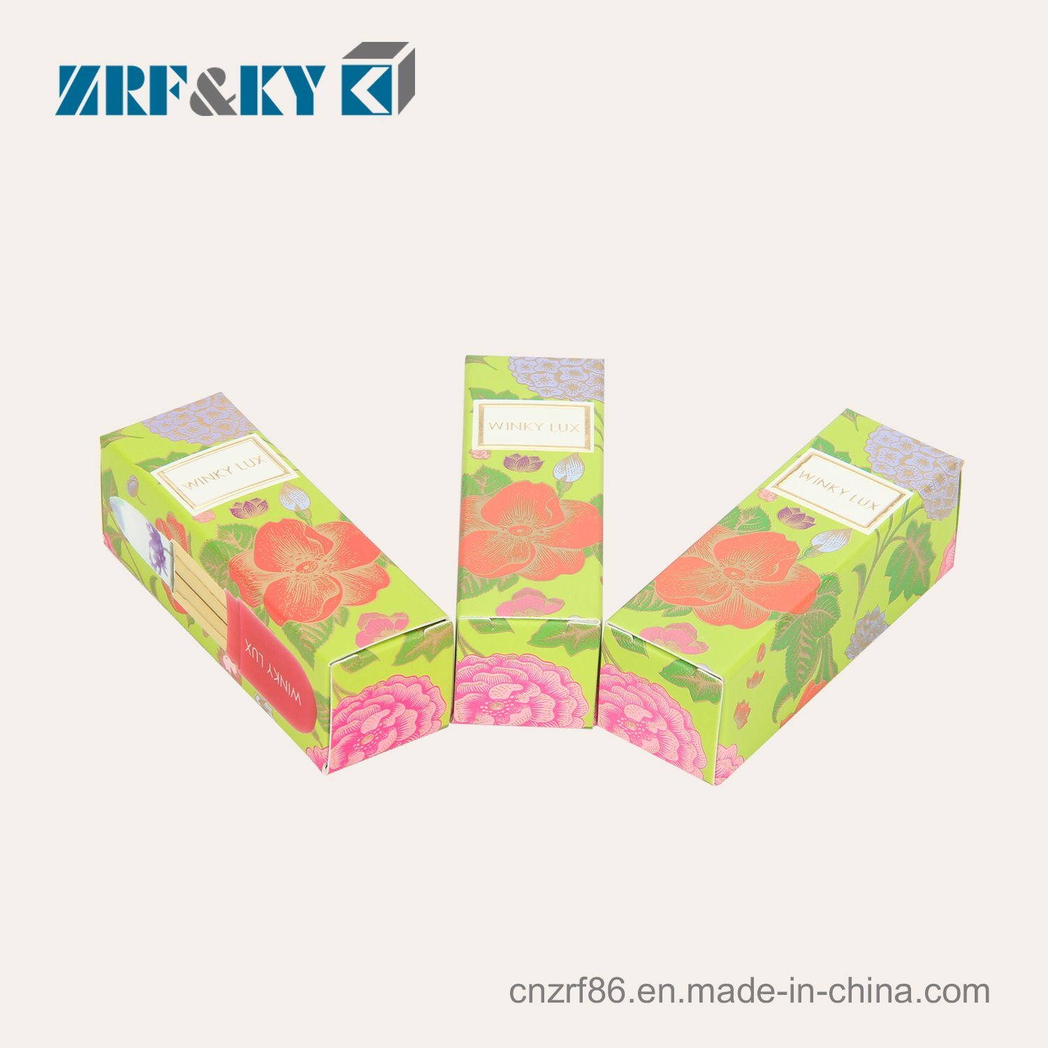 Custom Paper Packaging Empty Cosmetic Lipstick Tube Gift Case Boxes pictures & photos