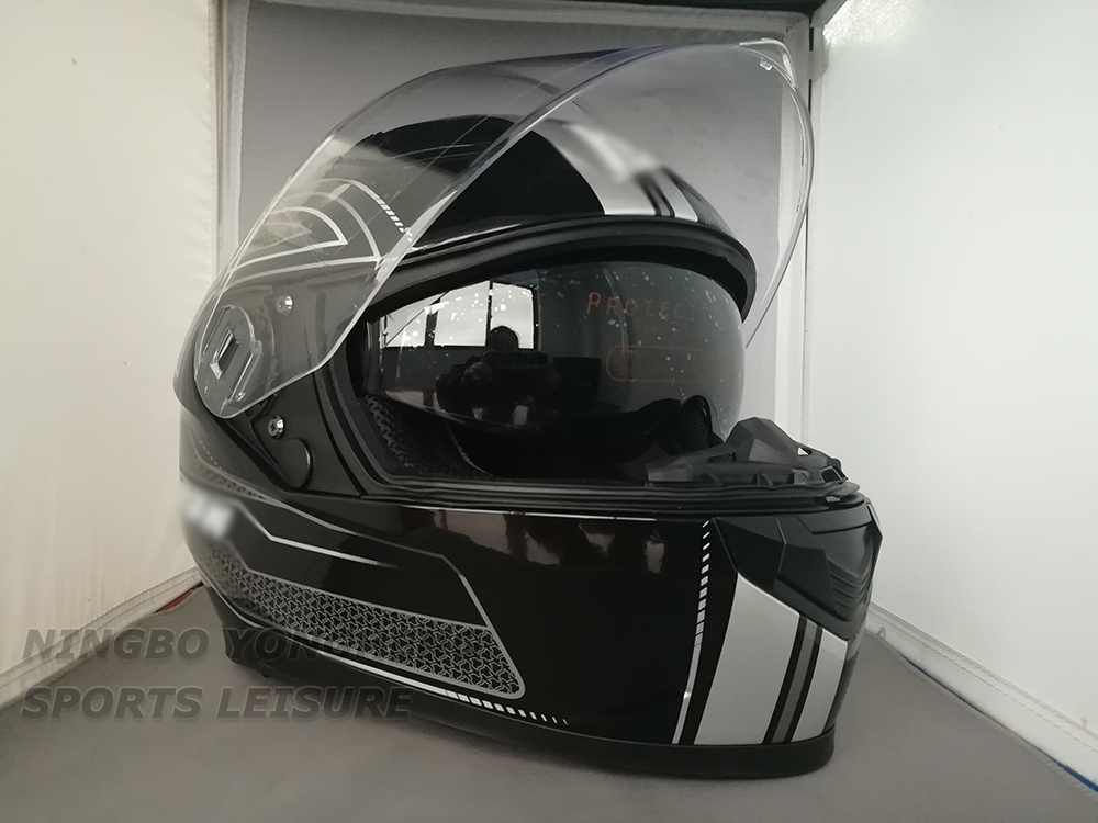 Cool Full Face Motorcycle Helmets >> Hot Item Cool Motorcycle Helmets Custom Decal Full Face Helmet With Factory Price