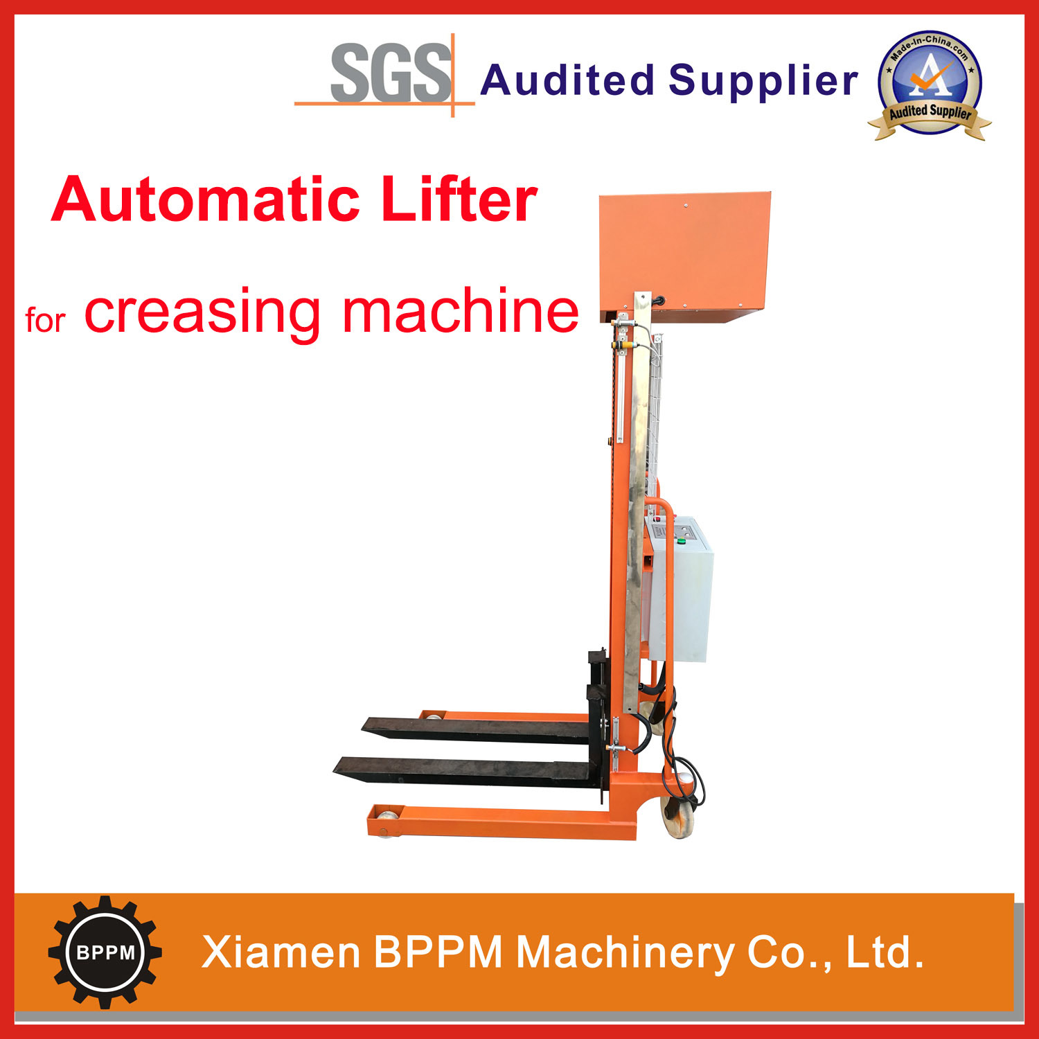 China Automatic Lifter for Creasing Machine - China Lifter for Paper ...