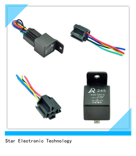 Terrific China Car Auto Truck Relay Socket Wire Harness Spdt 12V 12 Volt Dc Wiring Digital Resources Xeirawoestevosnl