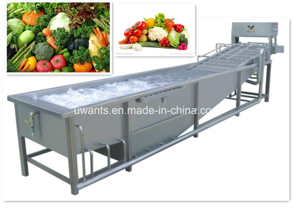 Stainless Steel Automatic Vegetable and Fruit Washing Machine pictures & photos