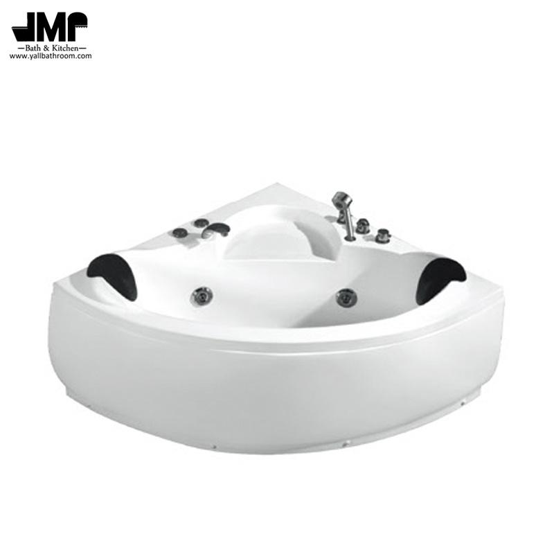 China Bathroom Jacuzzi Corner Bathtub SPA Whirlpool Massage Bath Tub ...