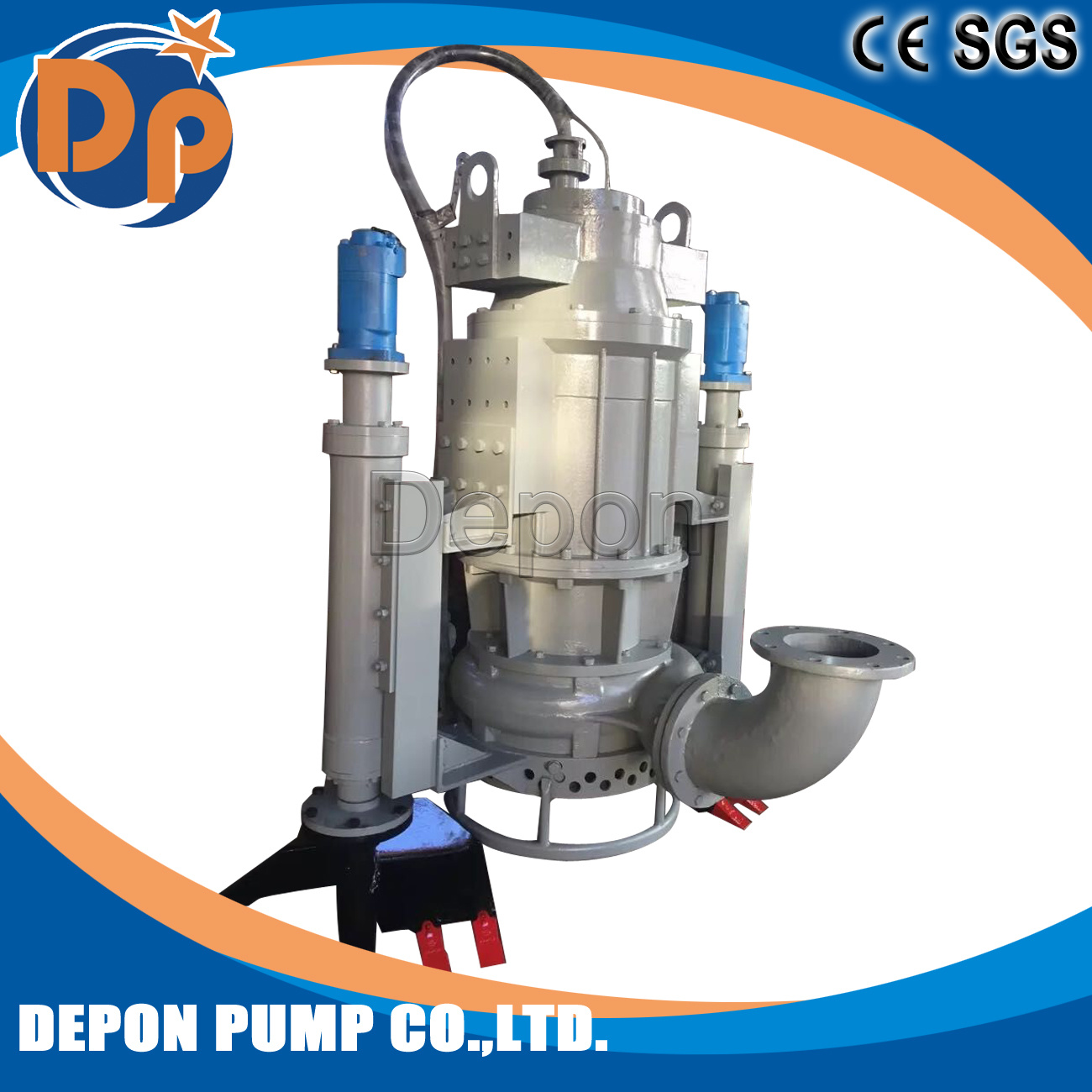 Industrial Processing Submersible Slurry Pump pictures & photos