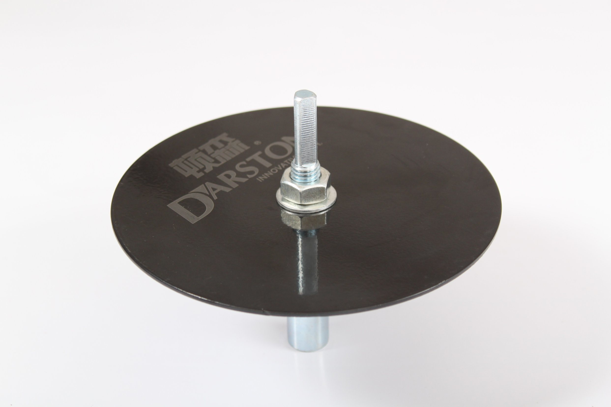 Ice Auger Adapter with Disc Plate