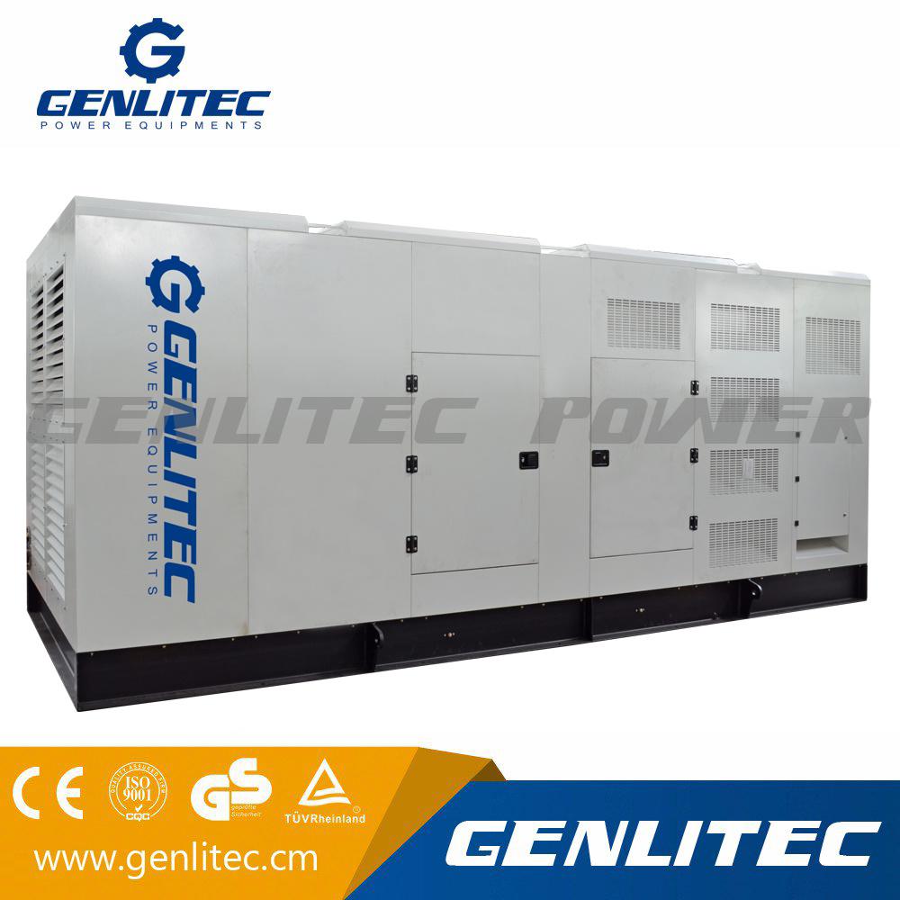 China 720kw/900kVA Soundproof Industrial Generator with Cummins Engine -  China Generator, Industrial Generator