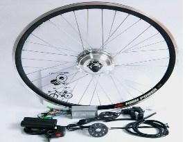 36v 250w Front Rear Wheel Brushless Geared Hub Motor Ebike Kits
