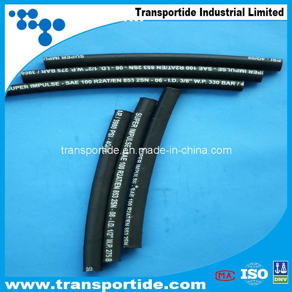 China Steel Wire Braided Hydraulic Hose (1SN/2SN) - China Steel Wire ...