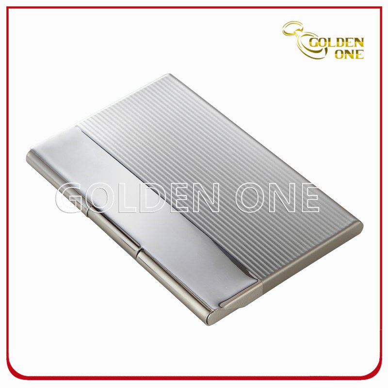china briefcase break line square metal business card case china business card case card case - Metal Business Card Case
