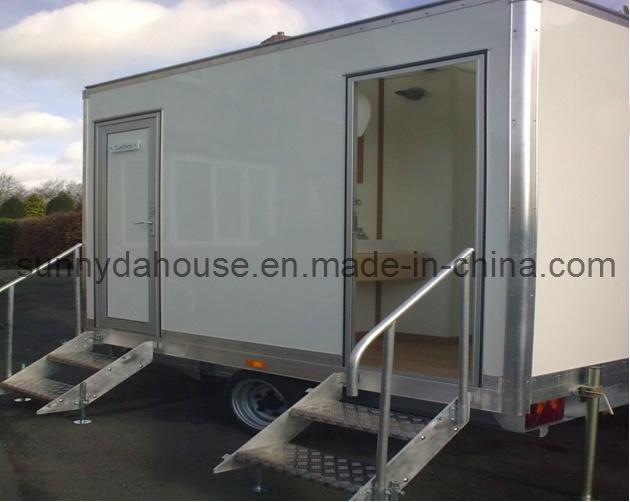China Aluminum Trailer Panels, Portable Toilet, Movable