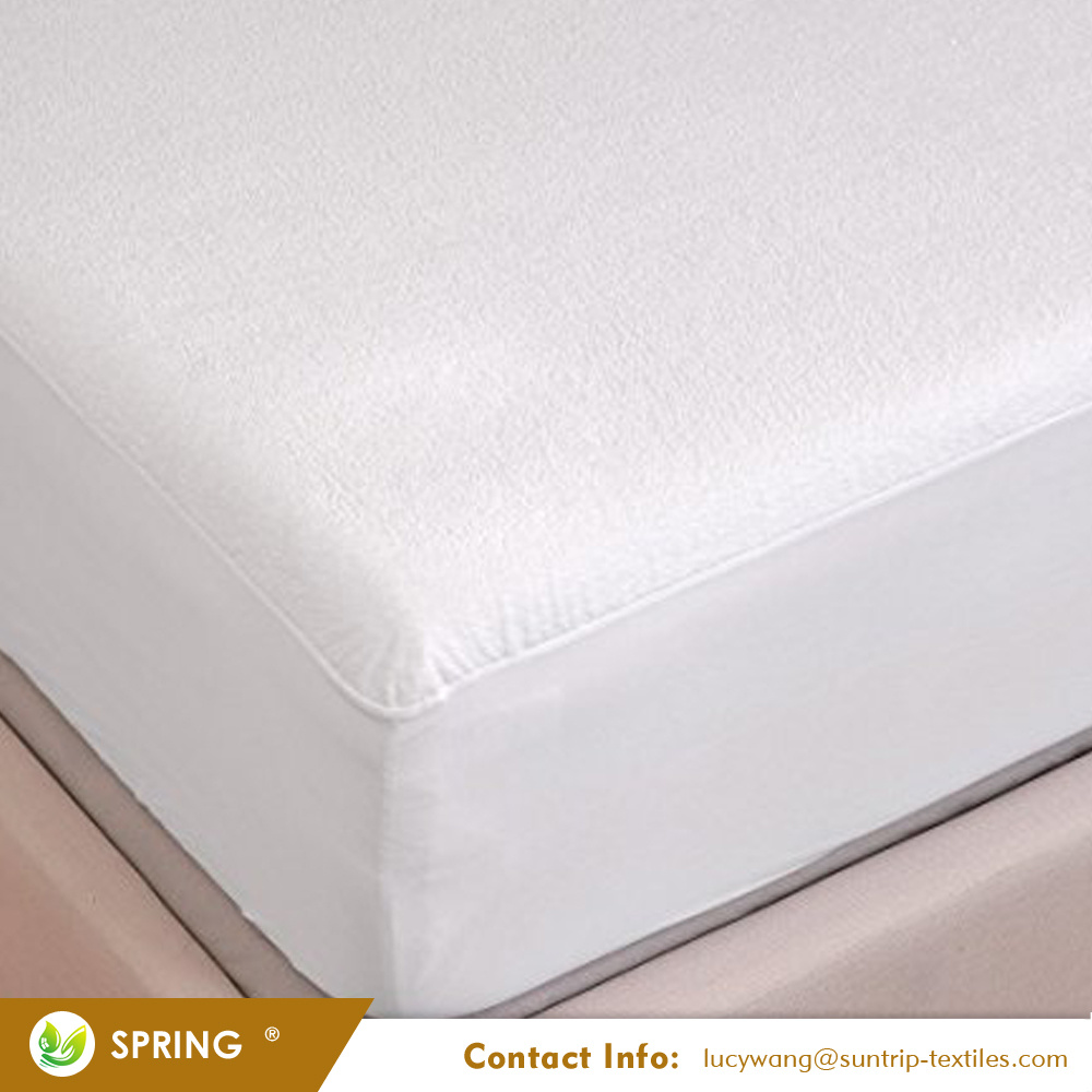 China Queen Size Vinyl Free Bed Bug Waterproof Mattress Cover