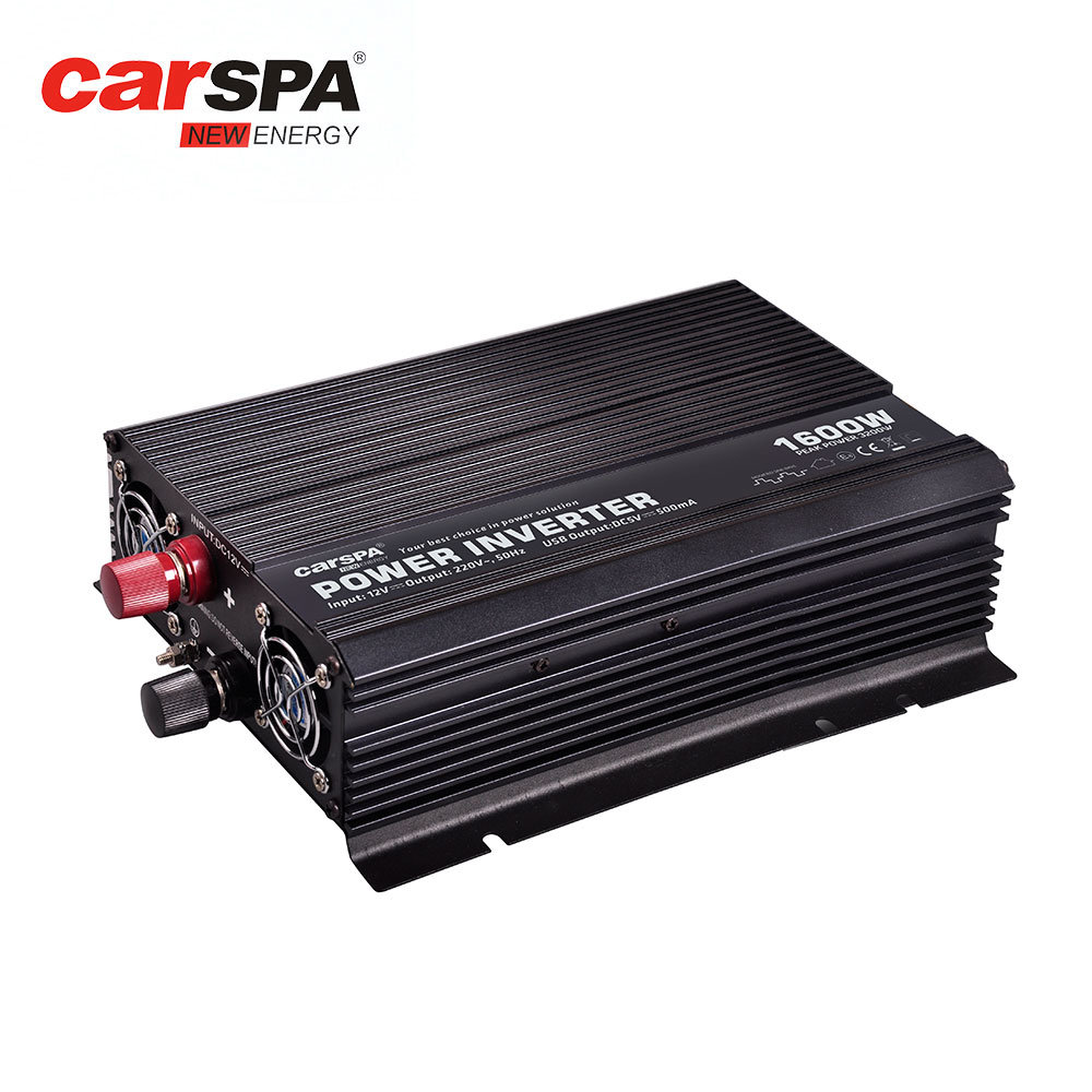 China RoHS DC AC Modified Sine Wave Power Inverter 12V To 220V-CAR1 ...