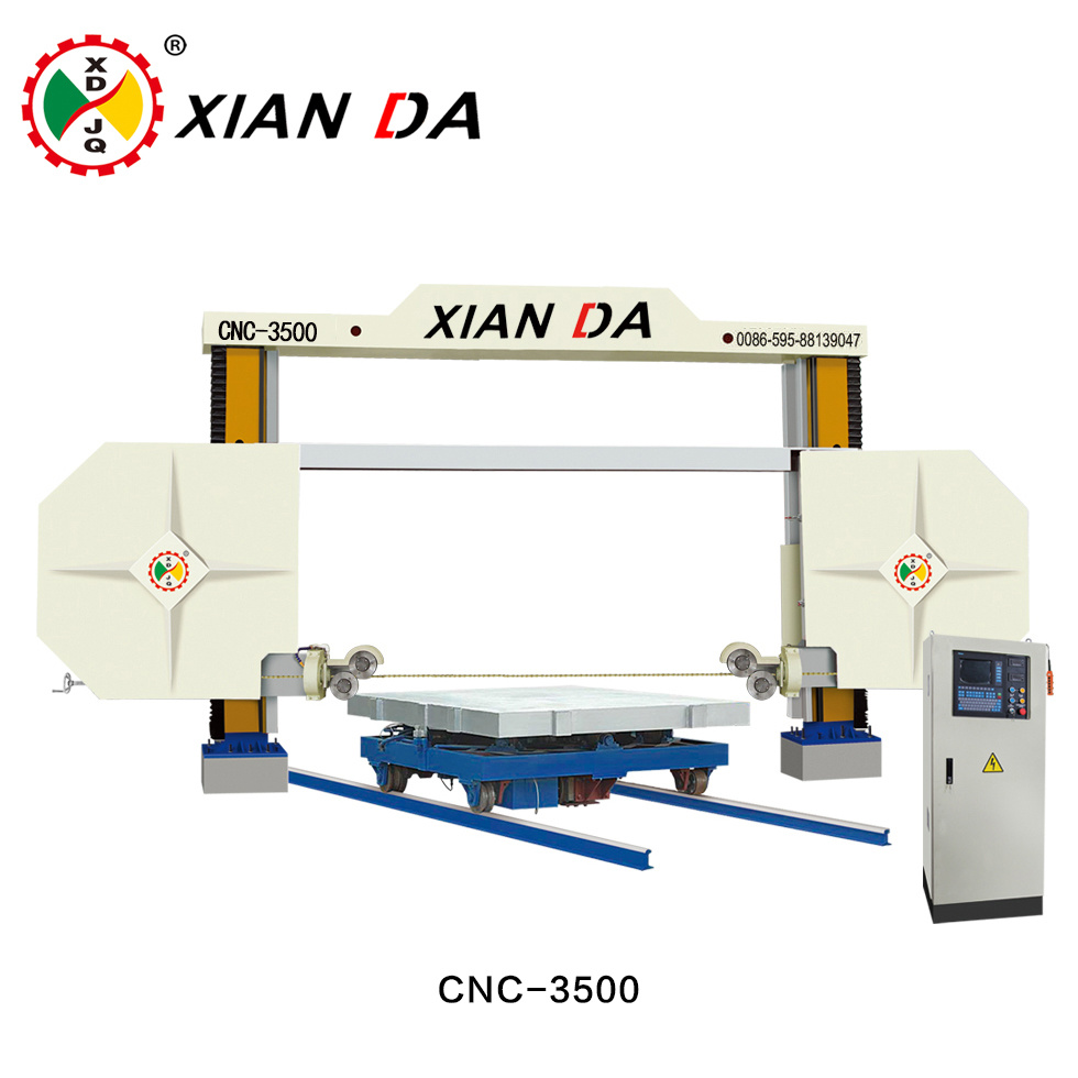 China CNC Stone Diamond Wire Saw Machine Cutting Granite/Marble ...