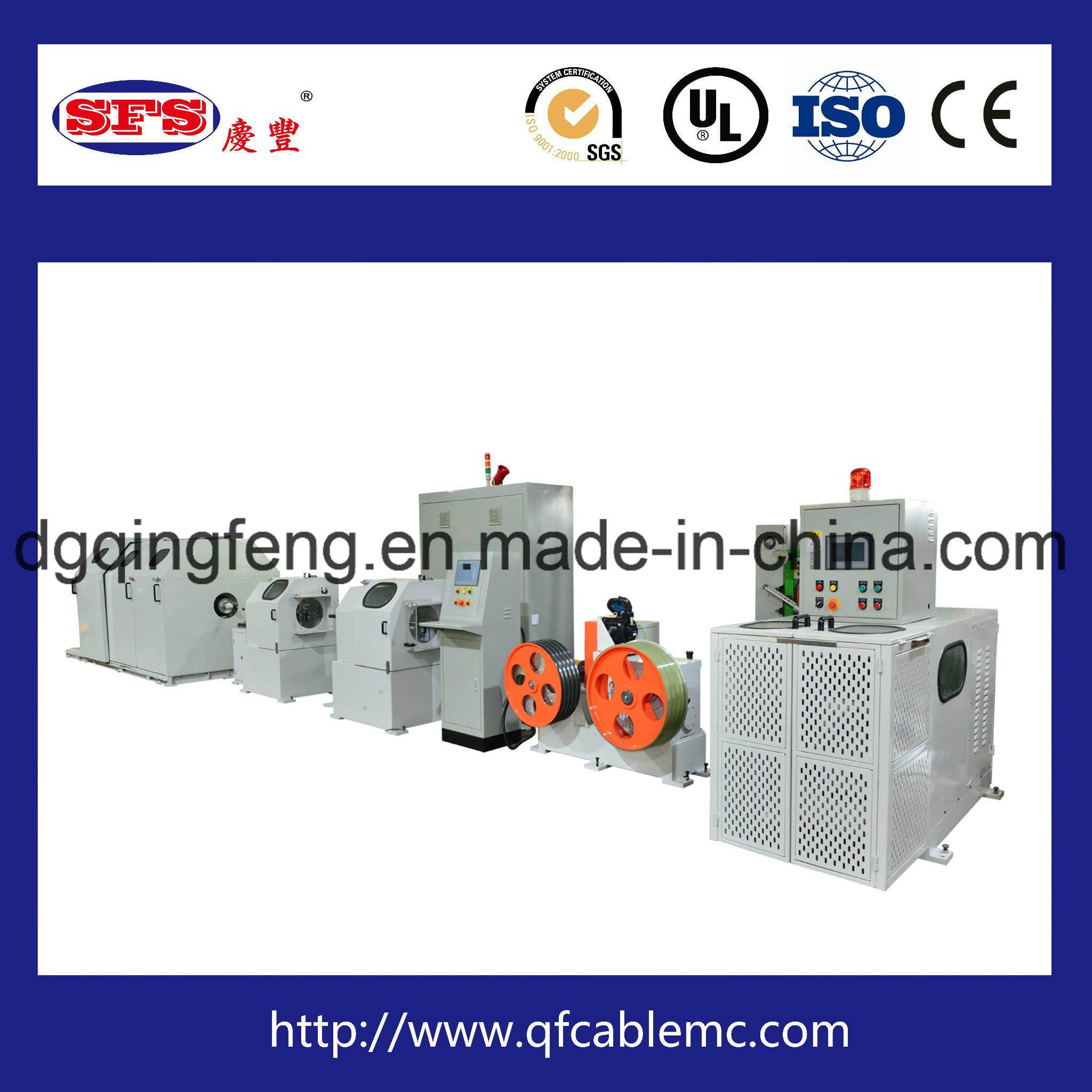 China Type-C Cable Stranding Machine, USB3.1cable Twisting Machine ...