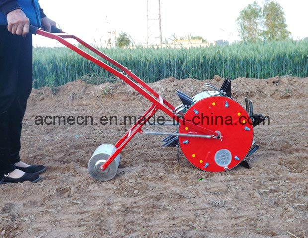 China Modern Hand Push Corn Seeder Maize Planter Machine For Sale