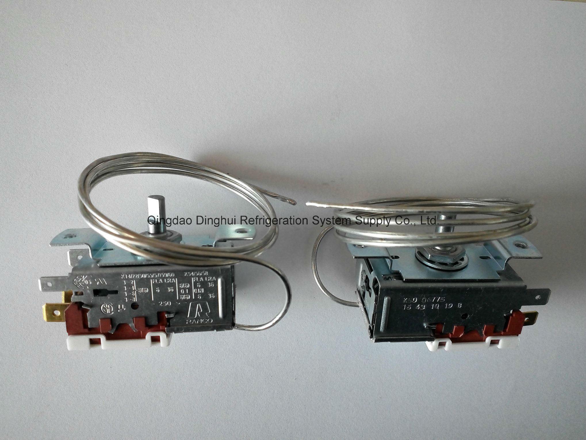 China Ranco Type Thermostat Temperature Controller Dual Stage Temperaturecontroller