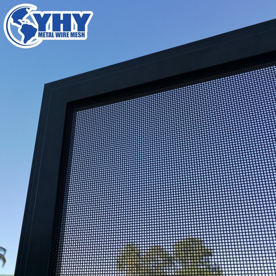 China Knife Shear Test Stainless Steel Wire Mesh Security Screen ...