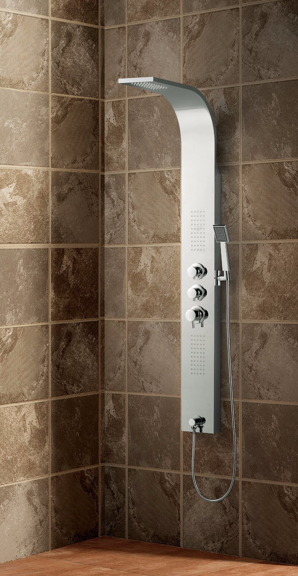 China Stainless Steel Shower Panel / Shower Column with Body Jet ...