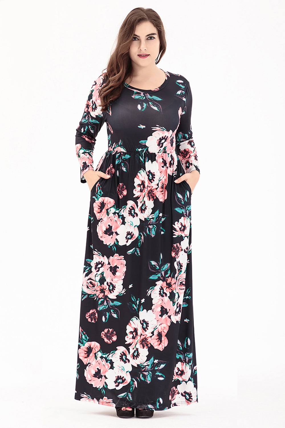 Extra Long Maxi Dresses Plus Size