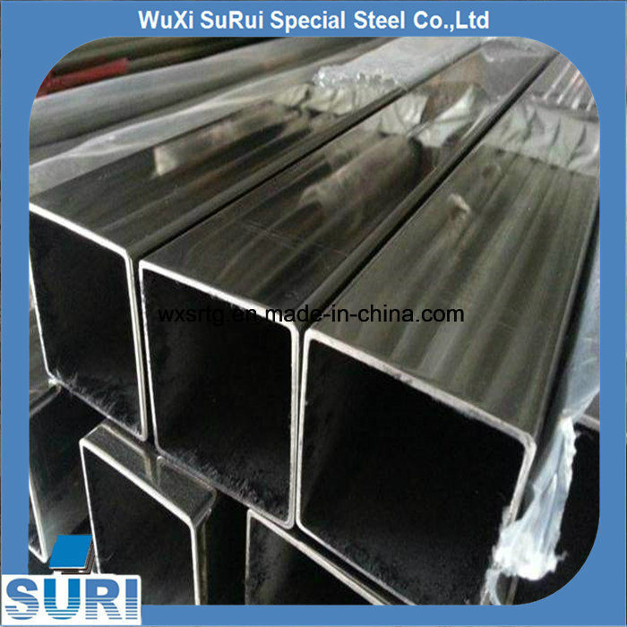 China Supplier Mirror Polish Seamless Square 304 Stainless Steel Pipe pictures & photos