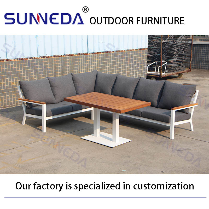 Outdoor Patio Furniture Sectional Sofa, Outdoor Patio Furniture Sectional