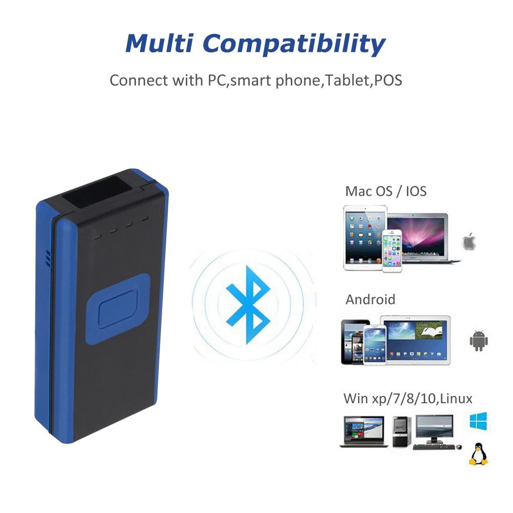 China 1d Bluetooth Wireless Barcode Scanner, Best Barcode Scanner